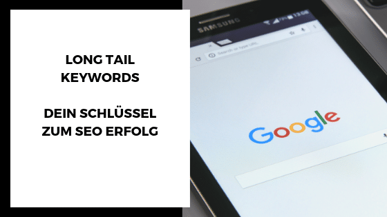 Long Tail Keyword - Beitragsbild