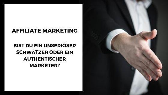 Affiliate Marketing Tipps