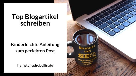 Blogartikel schreiben - Beitragsbild
