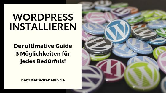 Wordpress installieren - Beitragsbild