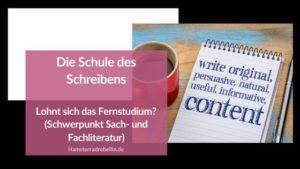 Schule des Schreibens Beitragsbild