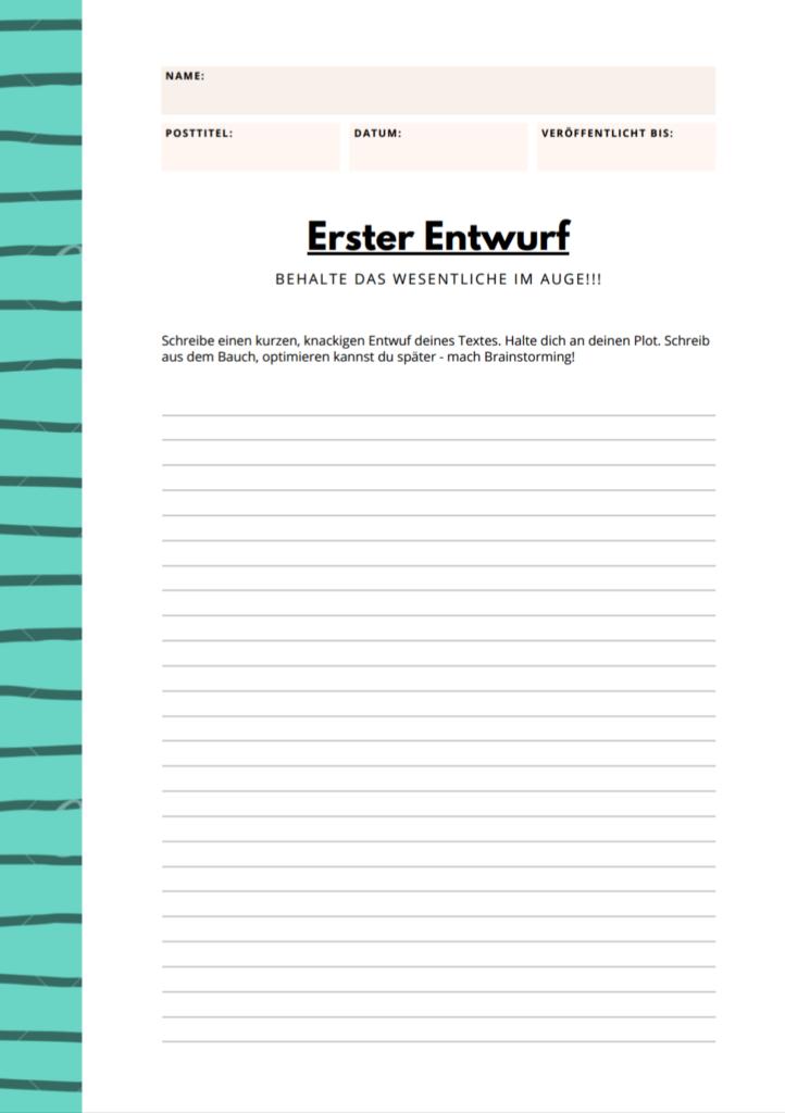 Blogplaner Seite 3