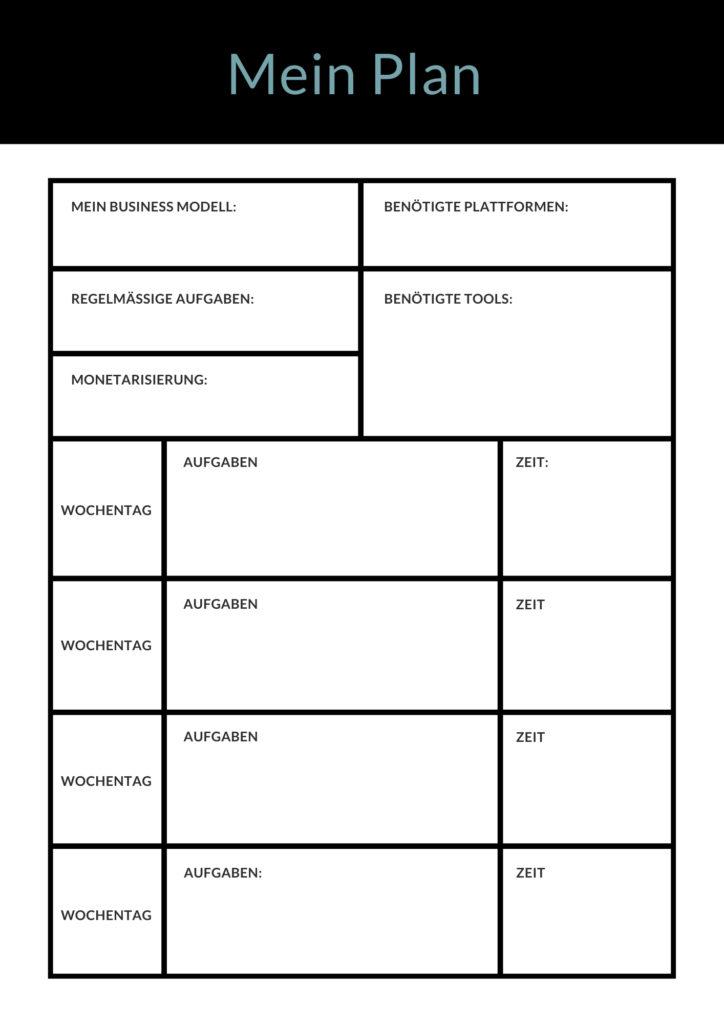 22+ Online Business Ideen für jeden Typ Mensch - inklusive gratis Worksheet 4